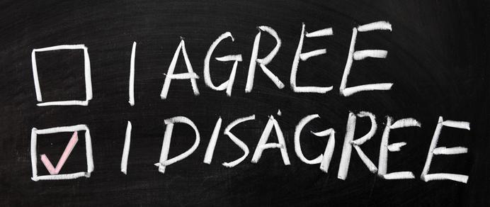 Disagreement is an art